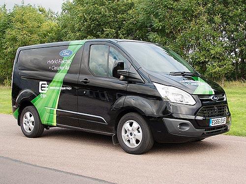 Ford уже тестирует первый в мире серийный гибридный фургон Transit Custom PHEV