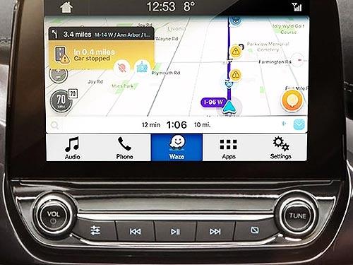 В автомобили Ford интегрируют систему Waze