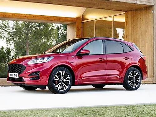 Новый Ford Kuga получил максимальный рейтинг безопасности EuroNCAP