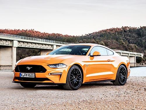 Ford Mustang стал самым продаваемым спортивным автомобилем в мире