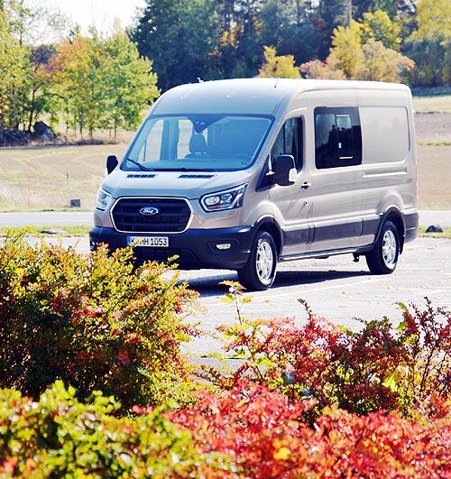Как ездит новый Ford Transit с 185-сильным мотором - Ford