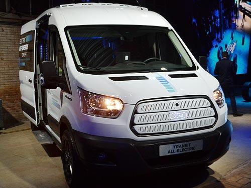 Ford нашел, как экономить 20% энергии в электрическом автобусе Transit Smart Energy