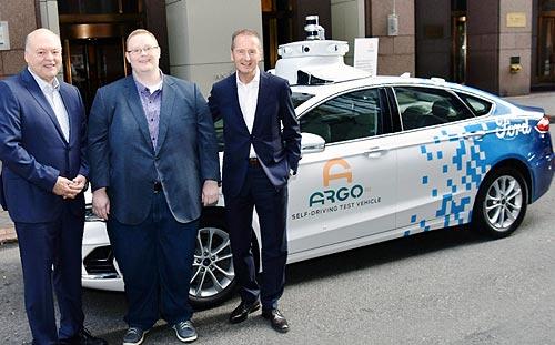 Что совместно в рамках альянса будут разрабатывать Ford и Volkswagen