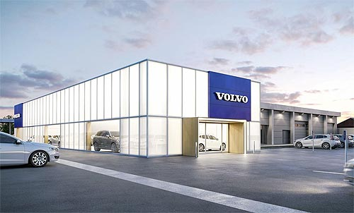 Volvo ищет новых дилеров сразу в 3 городах Украины