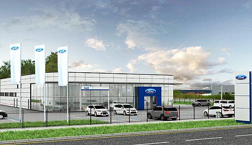 Ford открыл вакансию официального дилера в Хмельницком - Ford