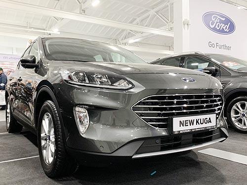 В Украине официально представили новое поколение Ford Kuga