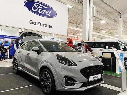 В Украине официально показали новый Ford Puma