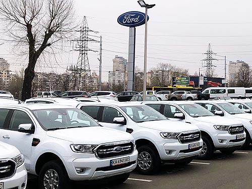 «Киевстар» закупил крупную партию пикапов Ford Ranger