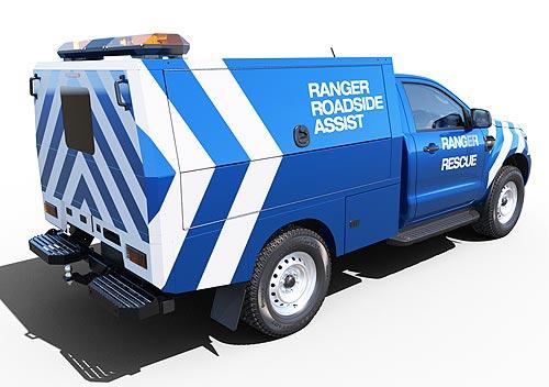 У Ford Ranger появилась версия шасси с кабиной для постройки спецверсий - Ford