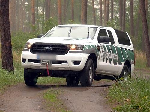 На базе пикапа Ford Ranger создали лесопатрульный комлекс