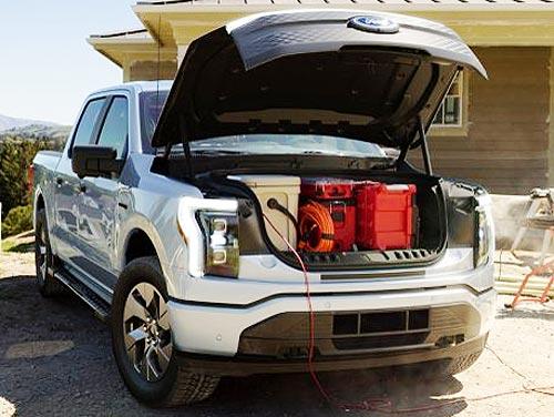 Ford представил электропикап Ford F-150 Lightning с запасом хода до 480 км - Ford