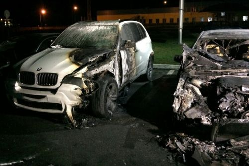 Сколько автомобилей горели или поджигали в Киеве. Статистика