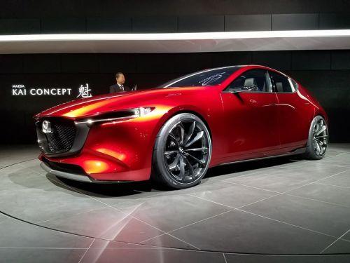 Mazda показала какой будет новая «тройка» - Mazda