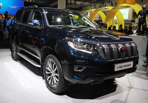 Новый Toyota Land Cruiser Prado представили во Франкфурте  - Prado
