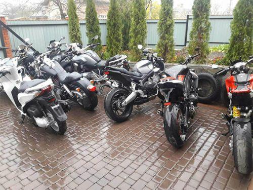 Полиция вскрыла канал поставки угнанных мотоциклов из ЕС в Украину - угон