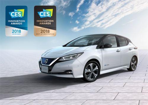 Новый Nissan Leaf получил свою первую престижную награду - Nissan