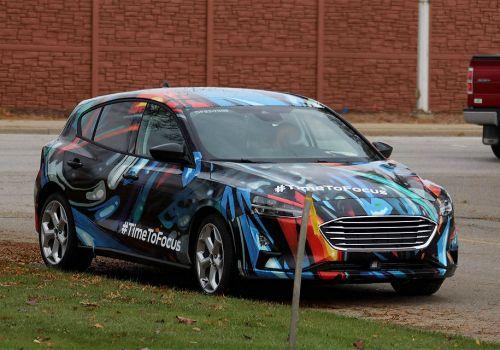 Каким будет новое поколение Ford Focus. Первые фото - Ford