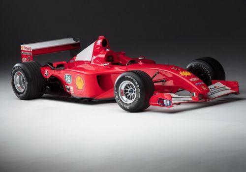 Чемпионский болид Шумахера продали за 7,5 миллиона долларов