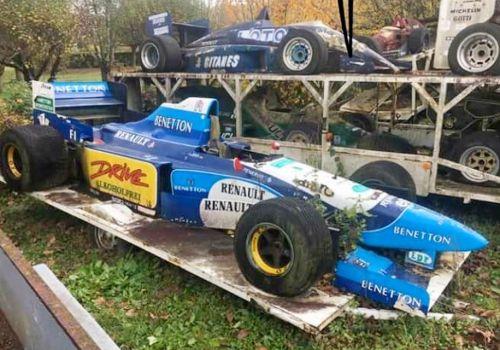 Во Франции обнаружили поддельную коллекцию болидов Формула1