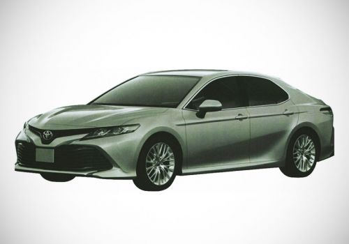 Какой дизайн будет иметь новая Toyota Camry для стран СНГ