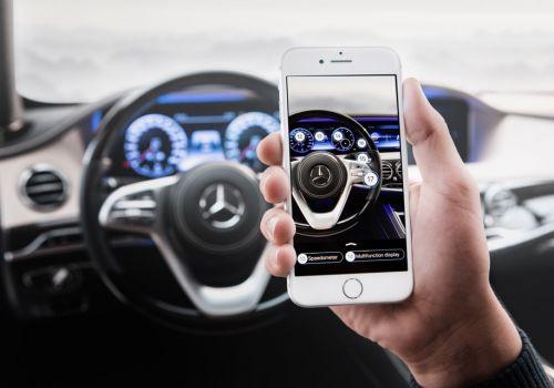 Mercedes-Benz научат сигнализировать владельцу о проишествиях во время парковки и оснастят чат-ботом