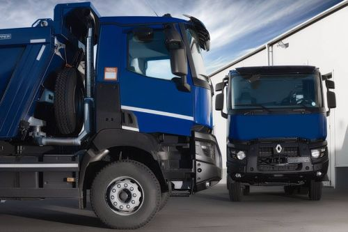 В Украину поставлена партия карьерных самосвалов Renault Trucks серии K - Renault