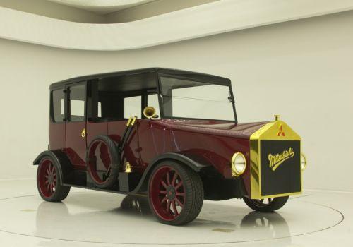 Mitsubishi к своему 100-летию сделала гибрид первого автомобиля - Mitsubishi