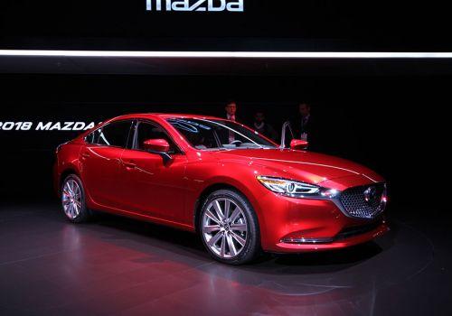 Обновленная Mazda6 получила турбированный  мотор от CX-9 и новые опции - Mazda