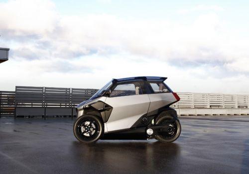 Peugeot показала концепт проворного городского трицикла - Peugeot