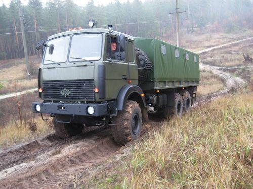 ВСУ приняла на вооружение новый армейский грузовик Богдан - Богдан