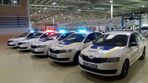 """На """"Еврокаре"""" выпустили первые авто для патрульной полиции - полиц"""