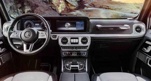 Каким будет интерьер Mercedes-Benz G-Class. Официальные фото - Mercedes-Benz