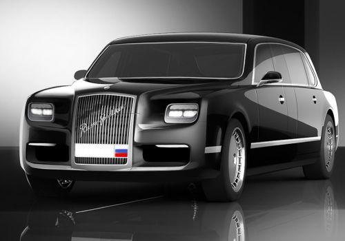 """Стало известно, кто будет продавать в розницу российские лимузины проекта """"Кортеж"""""""