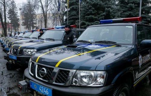 Национальная полиция получила партию внедорожников Nissan Patrol - полиц