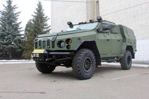 ВСУ получила первую партию бронепикапов «Новатор»