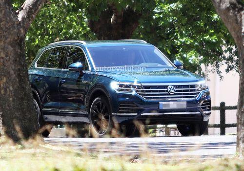 Каким будет новое поколение Volkswagen Touareg. Фото - Volkswagen