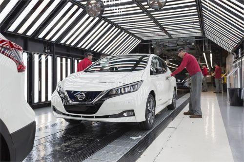 В Европе стартовало производство нового поколения Nissan Leaf