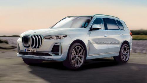 BMW X7 получит активный М-дифференциал и массаж - BMW