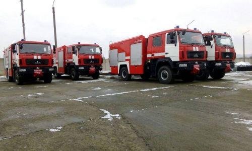 Пожарники Луганской области получили 4 новых МАЗа - МАЗ