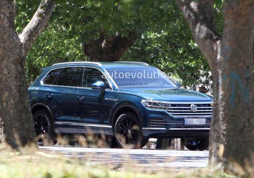 Volkswagen назвал время дебюта третьего поколения Touareg - Volkswagen