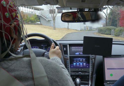 Nissan тестирует технологию чтения мыслей водителя