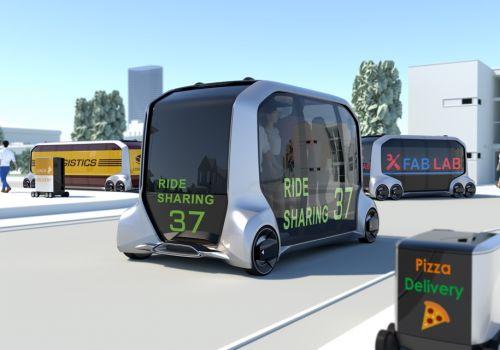 Toyota представила концепцию беспилотной доставки - Toyota