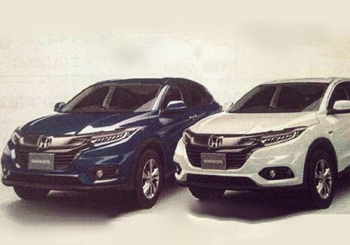 Каким будет обновленный Honda HR-V - Honda