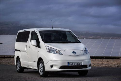 Обновленный Nissan e-NV200 имеет на 60% больше запас хода без подзарядки