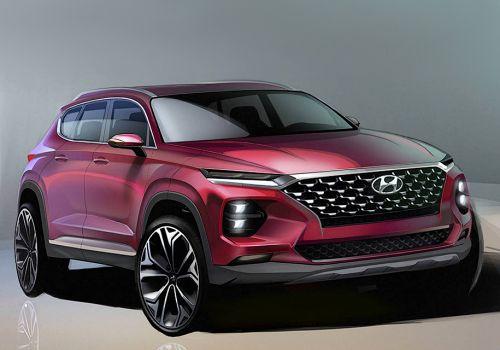Как будет выглядеть новый Hyundai Santa Fe. Первые фото - Hyundai