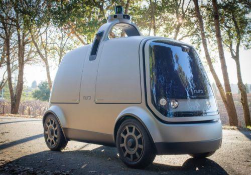 Экс-инженеры Google представили свою версию беспилотного фургона для доставки товаров