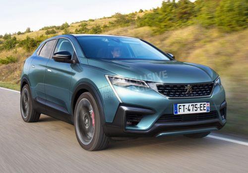 У Peugeot появится купеобразный кроссовер 4008 - Peugeot