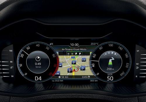 Skoda Octavia получит новую опцию — полностью цифровую приборную панель - Skoda