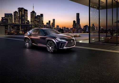 """Lexus рассекретил самый компактный кроссовер в своей """"линейке"""""""