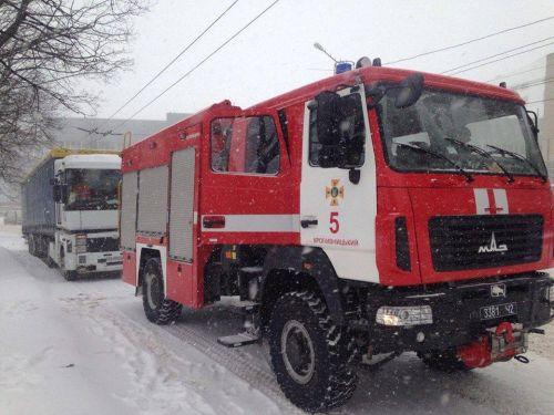 Снежный армагедон на дорогах Украины. Фото